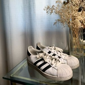 Adidas shell top superstar sneakers